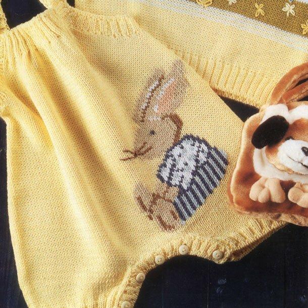 Детский комбинезон и пуловер