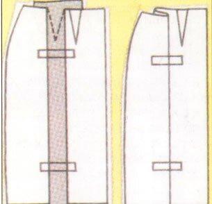 корректировка выкройки +на перегибистую фигуру